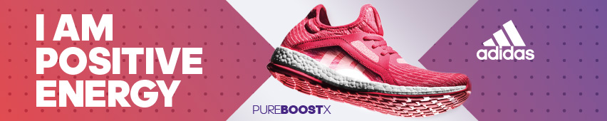 I Am Positive Energy adidas Pure Boost X
