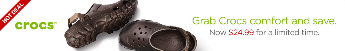 Grab Crocs Comfort And Save Now $24.99 For A Limited Time