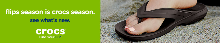 Flips Season Is Crocs Season See What's New Crocs Find Your Fun