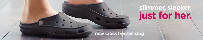 New Crocs Freesail