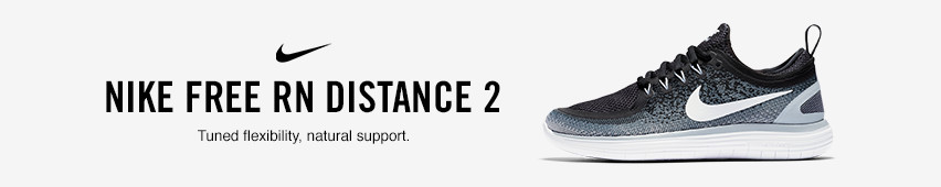 Nike Free RN Distance 2 Tuned Flexibility Natural Support.