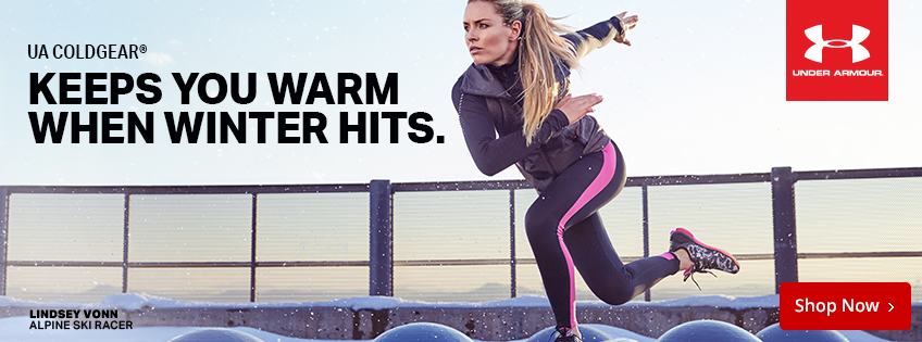 Under Armour Coldgear Keeps You Warm When Winter Hits