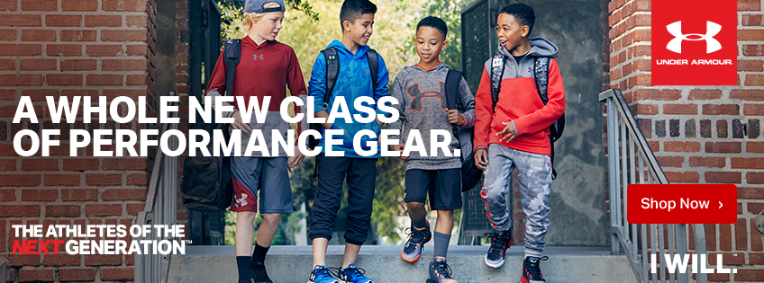 Under Armour A Whole New Class Of Performance Gear The Athletes Of The Next Generation