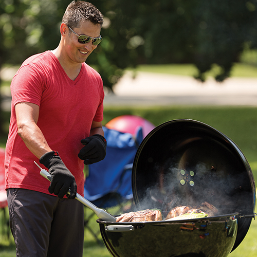 how to cook with charcoal weber