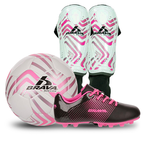 Brava Pink Soccer Package