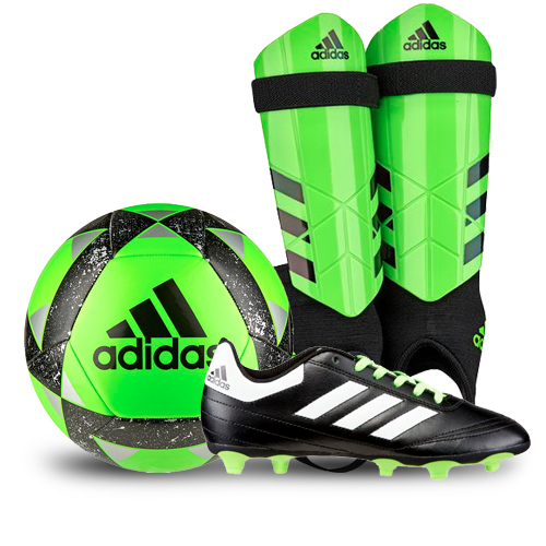 adidas Green Soccer Package