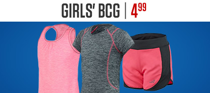 Girls' BCG Starting At $4.99