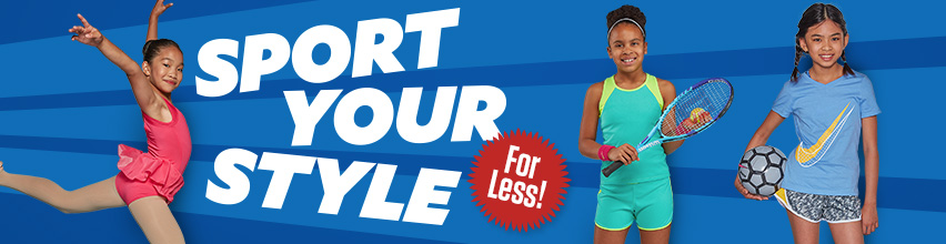Sport Your Style For Less