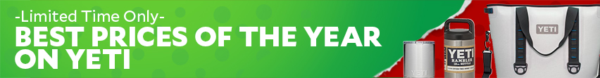 Limited Time Only Best Prices Of The Year On Yeti