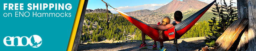 Free Shipping On ENO Hammocks