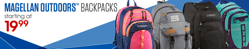 Magellan Outdoors Backpacks Starting At $19.99