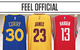 NBA Jerseys from your favorite players