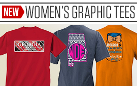 New Women's Graphic Tees