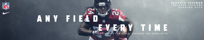 Any Field Every Time Devonta Freeman Atlanta Falcons Running Back