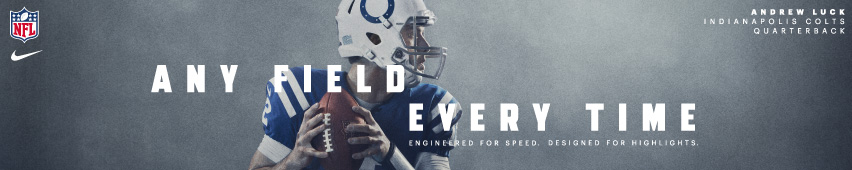 Any Field Every Time Andrew Luck Indianapolis Colts Quarterback