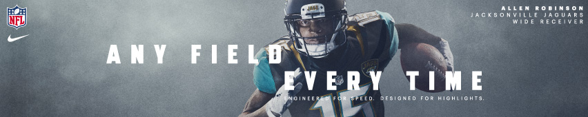 Any Field Every Time Allen Robinson Jacksonville Jaguars Wide Receiver