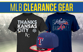 MLB Clearance Gear