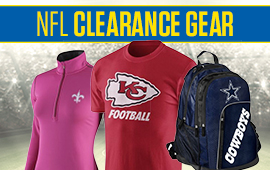 NFL Clearance Gear