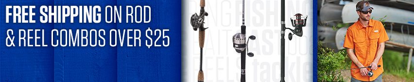 Free Shipping On Rod & Reel Combos Over $25
