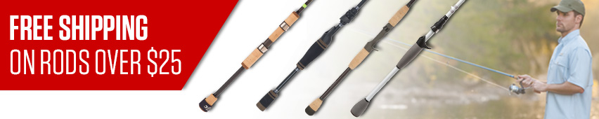 Free Shipping On Rods Over $25