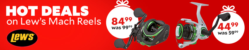 Hot Deals On Lew's Mach Reels