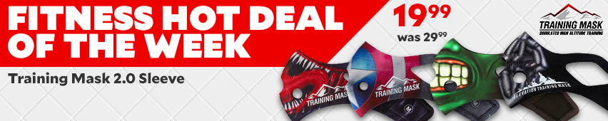 Fitness Hot Deal OF The Week Training Mask 2.0 Sleeve $19.99 Was $29.99