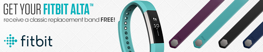 Get Your FitBit Alta Receive A Classic Replacement Band Free!