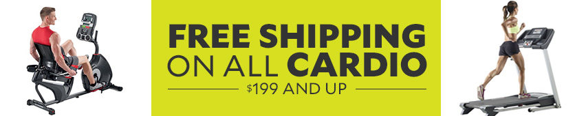Free Shipping On All Cardio $199 And Up