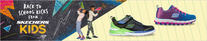 Back to School Shoes from Skechers