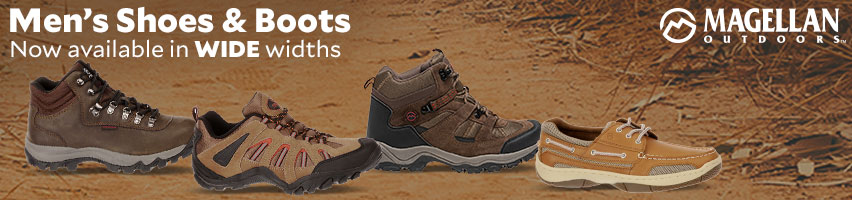 Magellan Outdoors Shoes And Boots Now Available In Wide Widths