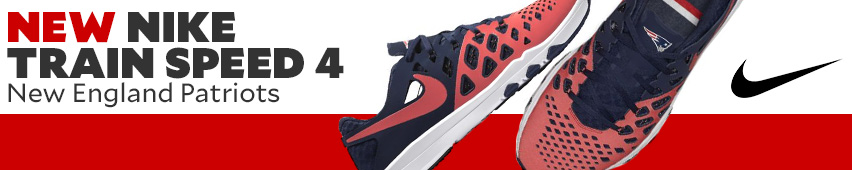 New Nike Train Speed 4 New England Patriots