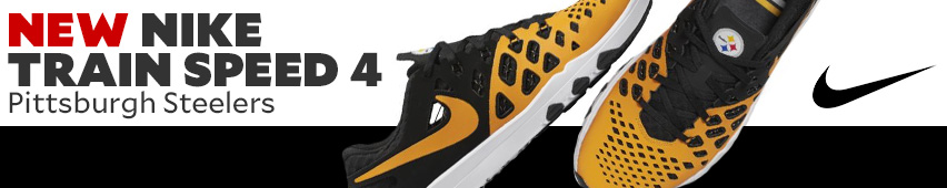New Nike Train Speed 4 Pittsburgh Steelers