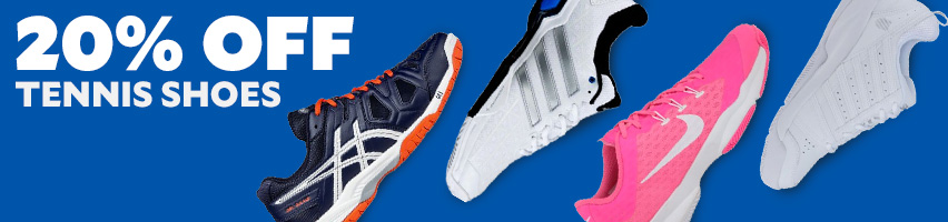 20% Off Tennis Shoes