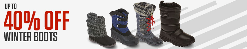 Up to 25% Off Winter Boots