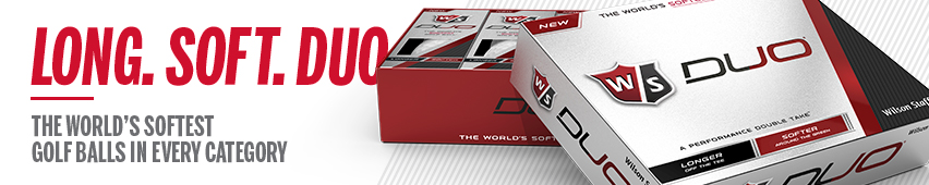 Long. Soft Duo The World's Softest Golf Balls In Every Category