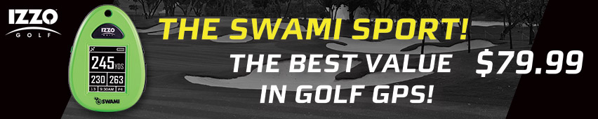 The Swami Sport The Best Value In Golf GPS $79.99