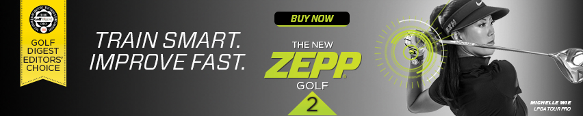 Train Smart. Improve Fast. The New Zepp Golf 2