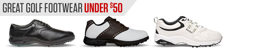 Great Golf Footwear Under $50