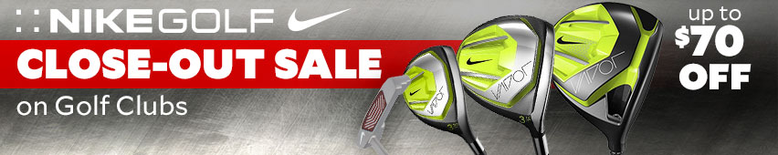 Nike Golf Close-Out Sale On Golf Clubs Up To $70 Off