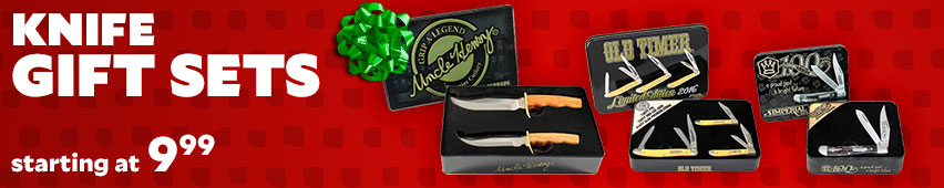 Knife Gifts Sets Starting At $9.99