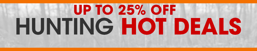 Hunting Hot Deals Banner