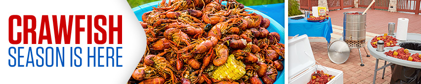 Crawfish Season Is Here