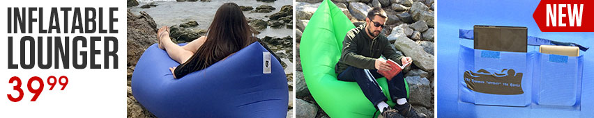 Inflatable Lounger $59.99