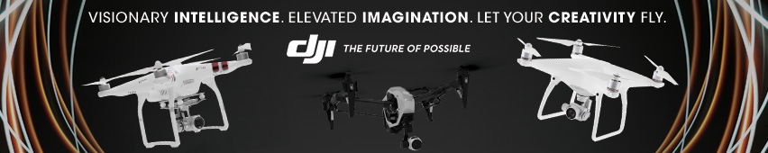 Visionary Intelligence. Elevated Imagination. Let Your Creativity Fly. DJI The Future Of Possible