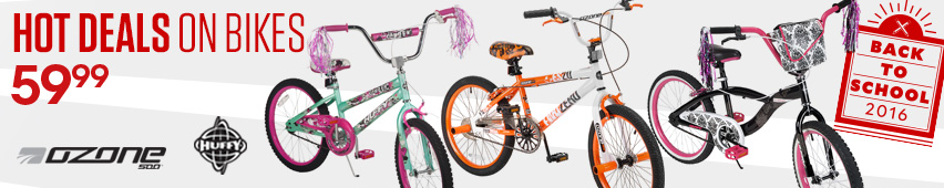 Hot Deals On Bikes $59.99