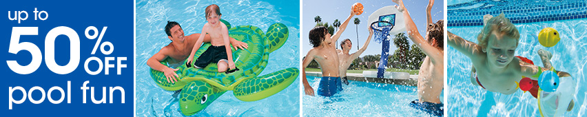 Up To 50% Off Pool Fun
