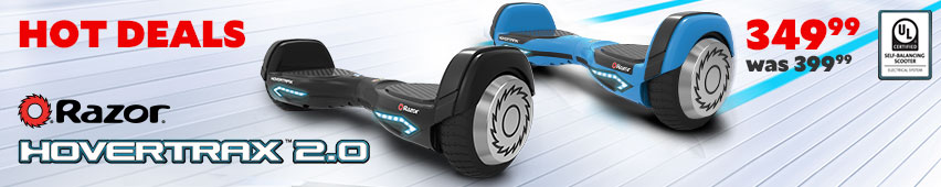 New Razor Hovertrax 2.0 $399.99