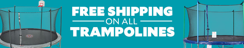 Free Shipping On All Trampolines