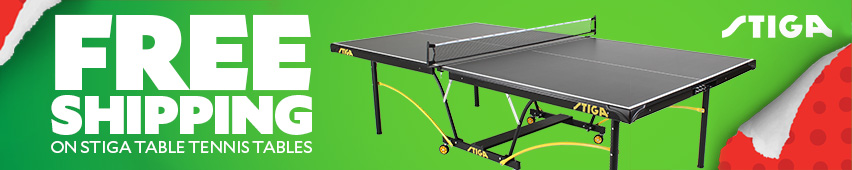 Free Shipping On Stiga Table Tennis Tables