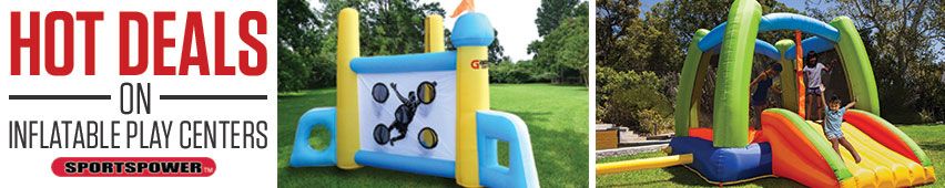 Hot Deals On Inflatable Play Centers Sportspower